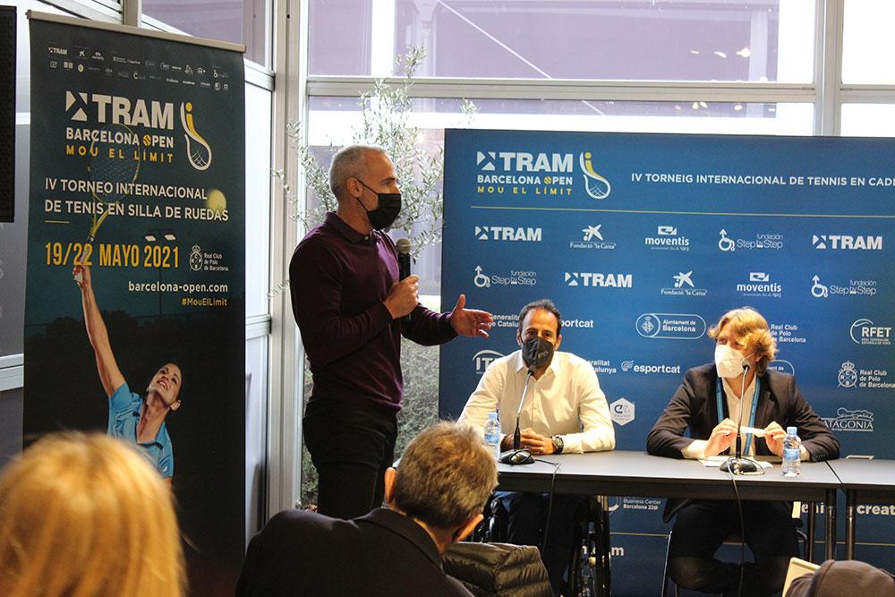 Àlex Corretja, embajador del TRAM Barcelona Open
